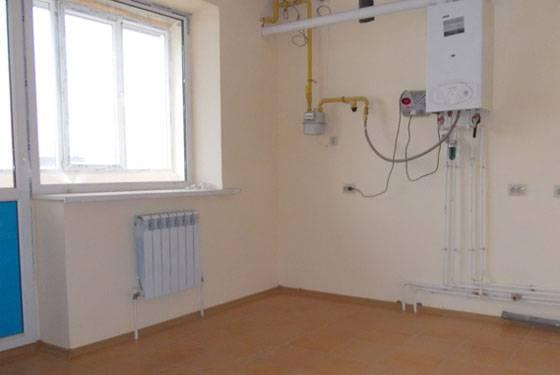 Индивидуальное отопление в квартире схема 331